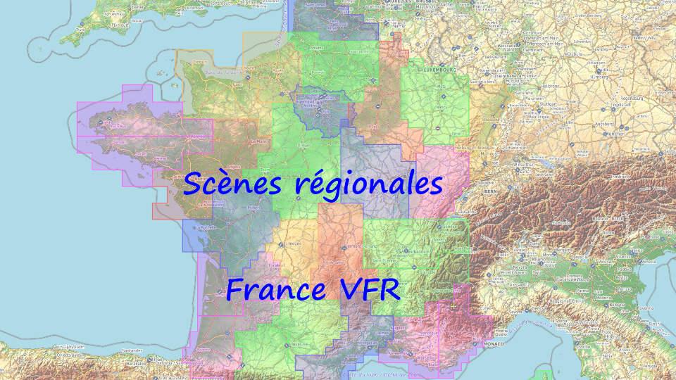 Scènes régionales France VFR